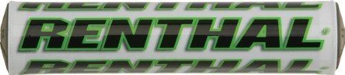Renthal Sx Mini Handlebar Pad-white/green