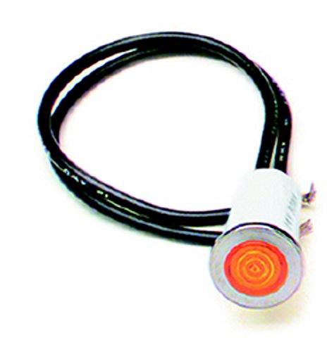 Painless 80208 Amber 12 Dash Indicator Light
