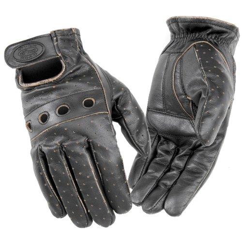 River Road Outlaw Vintage Gloves - Large/dark Brown