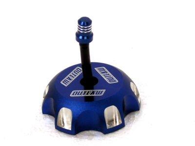 Outlaw Racing Blue Billet Gas Fuel Cap Yamaha YZ250F YZ450F 03-10