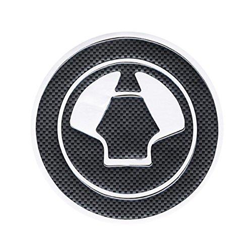 Motorcycle Parts Racing Fiber Fuel Gas Cap Cover Tank Protector Pad Sticker Decal For Kawasaki Ninja 650r All