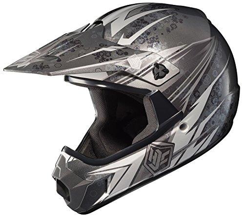 HJC CL-XY Pop N Lock Youth Motocross Helmet MC-5 Small