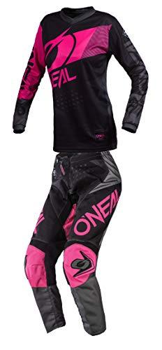 ONeal Womens Element Factor Motocross Jersey Pants Combo BlackPink