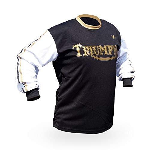 Reign VMX Triumph-BSA Vintage Style Motocross Jersey - Size X-Large