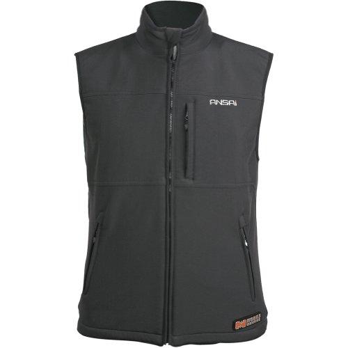 Mobile Warming Mens Classic Vest Black X-Large