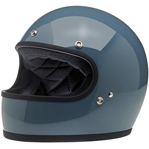 Biltwell Unisex-Adult Full-Face-Helmet-Style Gringo DOT Certified Full-Face Helmet Baja Blue Small
