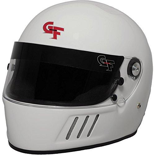 G-Force GF3 Unisex-Adult Full-Face Helmet WhiteXX-Large SA2015