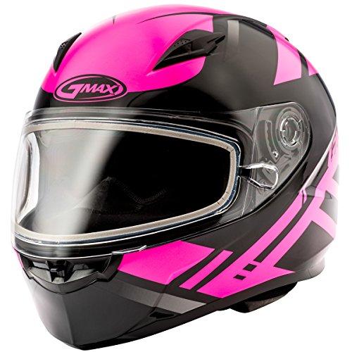 GMAX unisex-adult full-face-helmet-style Helmet Ff49 Snow Berg BlackPink Medium
