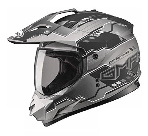 GMAX unisex-adult full-face-helmet-style Visor Gm11D 15 Adventure Tc17 BlackDark Silver One Size