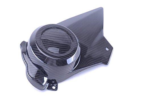 Bestem CBBU-SPC-MT Full Carbon Fiber Twill Press Molded Sprocket Cover EBR 1190 RX SX