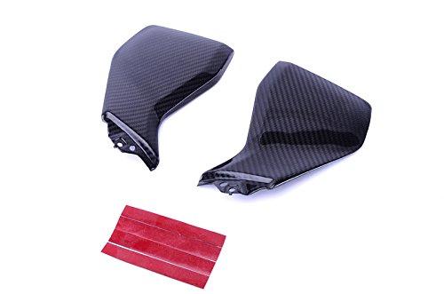 Bestem CBYA-FZ9-TSP-MT Full Carbon Fiber Tank Side Panels in Twill Weave for Yamaha FZ-09MT-09