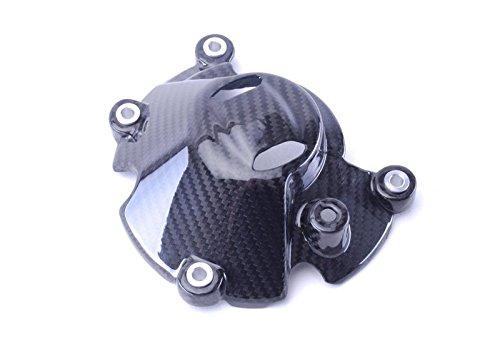 Bestem CBYA-R115-EGCM-MT Medium Full Carbon Fiber Twill Engine Cover Yamaha R1
