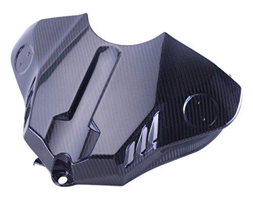 Bestem CBYA-R115-TKC-MT Full Carbon Fiber Tank Cover in Twill Weave for Yamaha R1 2015 2016