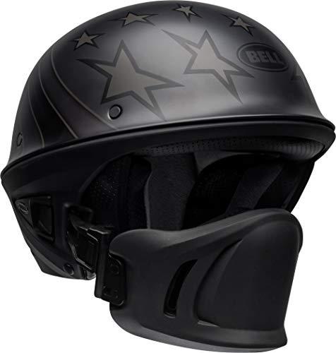 Bell Rogue Half-Size Motorcycle Helmet Honor Matte TitaniumBlack Medium