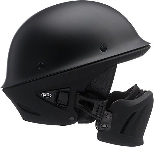 Bell Rogue Half-Size Motorcycle Helmet Solid Matte Black Medium