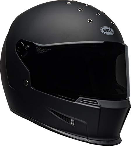 Bell Eliminator Street Motorcycle Helmet Matte Black MediumLarge