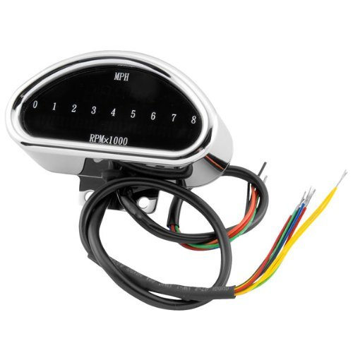 Bikers Choice Digital SpeedometerTachometer Combo for Harley Davidson