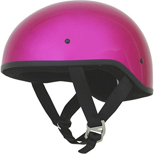 AFX FX-200 Unisex-Adult Half-Size-Helmet-Style Slick Beanie-Style Half Helmet S Fuchsia Small