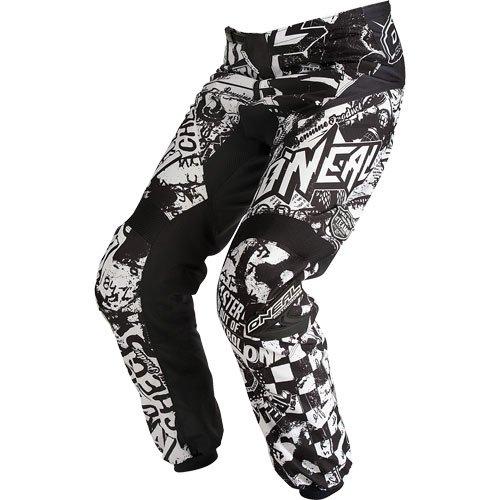 2015 O'neal Element Wild Black/white Pants For Motocross / Off-road / Dirt Bike / Atv / Mtb - 28
