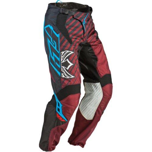 Fly Racing Kinetic Rs Men's Mx/off-road/dirt Bike Motorcycle Pants - Black/maroon / Size 28