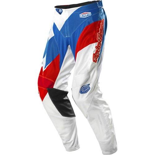 Troy Lee Designs Gp Air Astro (team) Men's Motocross/off-road/dirt Bike Motorcycle Pants - White / Size 30