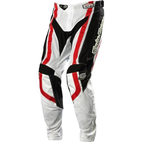 Troy Lee Designs Gp Air Factory Men's Mx/off-road/dirt Bike Motorcycle Pants - Black/red / Size 32