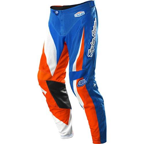 Troy Lee Designs Gp Air Vega Men's Motox/off-road/dirt Bike Motorcycle Pants - Blue/orange / Size 30