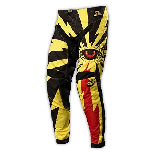 Troy Lee Designs Gp Cyclops Men's Mx/off-road/dirt Bike Motorcycle Pants - Yellow / Size 36
