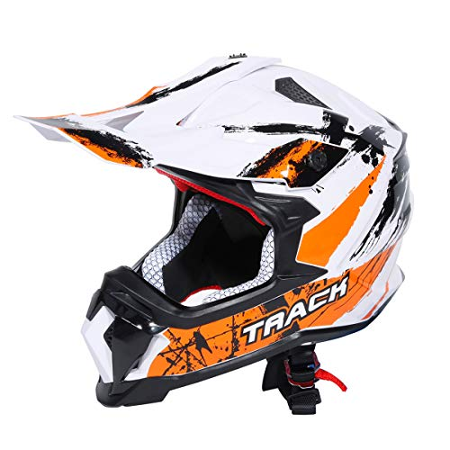 XFMT DOT Adult Full Face Helmet Motocross Off-Road Dirt Bike Motorcycle ATV M