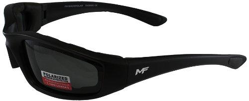MF Payback Sunglasses Black FramePolarized Smoke Lens
