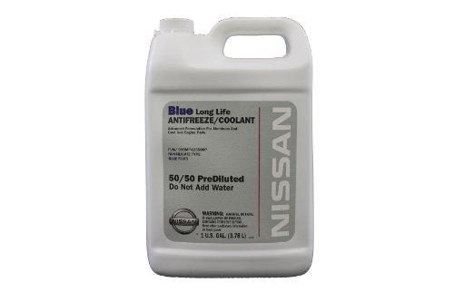 Genuine Nissan Fluid 999MP-L25500P Blue Long Life AntifreezeCoolant - 1 Gallon
