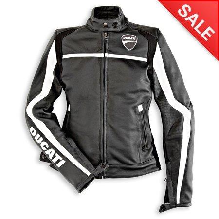 Lady Ducati Twin Leather Jacket