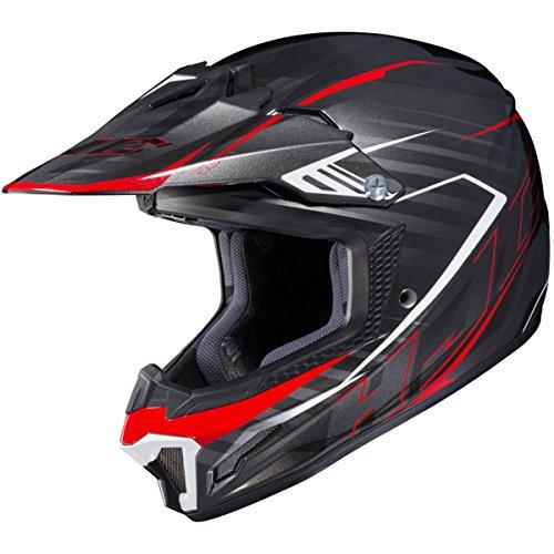 HJC CL-XY 2 Blaze MC1 WhiteBlackRed Youth Motocross Helmet - Youth Medium