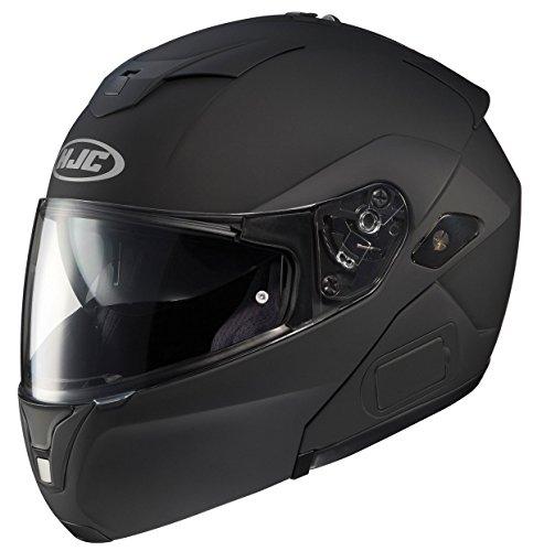 HJC SY-MAXBT III Bluetooth Modular Motorcycle Helmet Matte Black Large