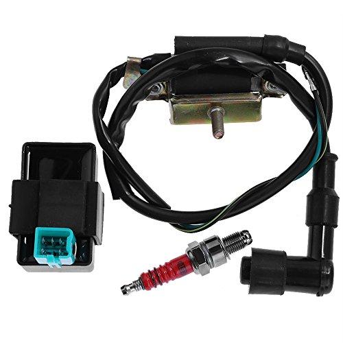 Ignition Coil  CDI Box  Spark Plug for Honda XL185 XL XR 70 75 80 100 125 175 185 200 250