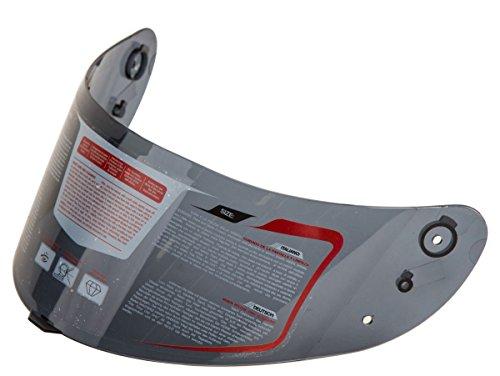 IV2 Model AH16 Full Face Motorcycle Helmet Replacement Face Shield Visor - Dark Tinted Smoked
