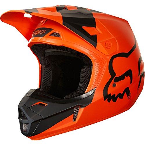 Fox Racing 2018 V2 Helmet - Mastar SMALL ORANGE
