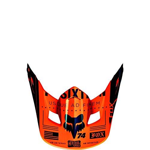Fox Racing MX16 V2 HELMET VISOR-UNION ORG OS ORG One Size 15853-009-OS