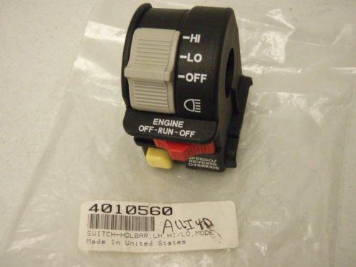 Polaris ATV OEM Handlebar Headlight HiLo Beam LightKillStop Switch 4010591 Sportsman