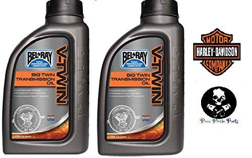 Bel-Ray Big Twin Transmission Oil 85W-140 1 Liter Bottles Harely Davidson