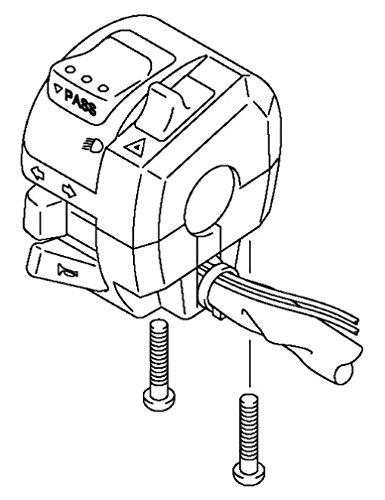 11-15 Suzuki GSXR600 GSXR750 Left Handle Bar Switch