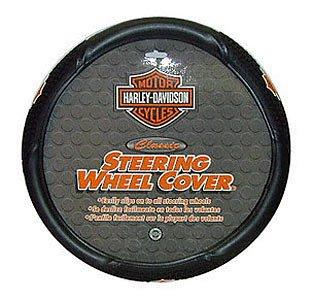 Plasticolor 006340 Harley-Davidson Steering Wheel Cover