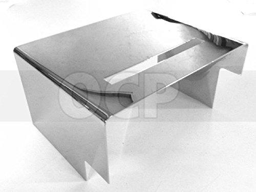 HARLEY FX XL SPORTSTER 1980-99 BATTERY COVER CHROME repl OEM 66347-91