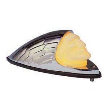 BKRider Indian Head Front Fender Lamp For Harley-Davidson CC 27512