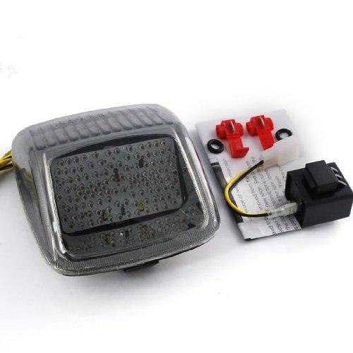 Custom Smoke Integrated 118 LED Turn Signal Blinker Lamp Running Brake Stop Tail Light For 2002-2011 Harley Davidson V-rod Load Resistor