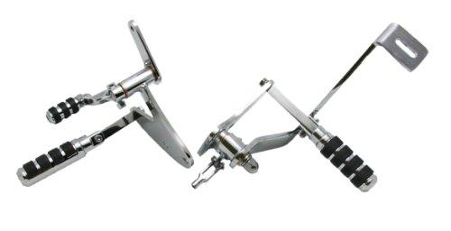 Raider 30-7030 Chrome Forward Control Set for Harley Davidson FXR