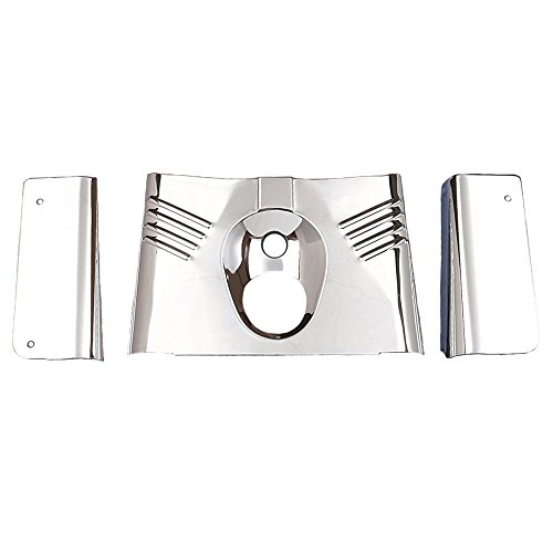 Chrome Fork Tins - 3 piece set for 1990-2008 Harley-Davidson Heritage Softail models - HC-222910