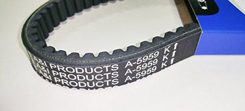 Kevlar Cogged Asymmetric Go Kart Belt for Manco 5959