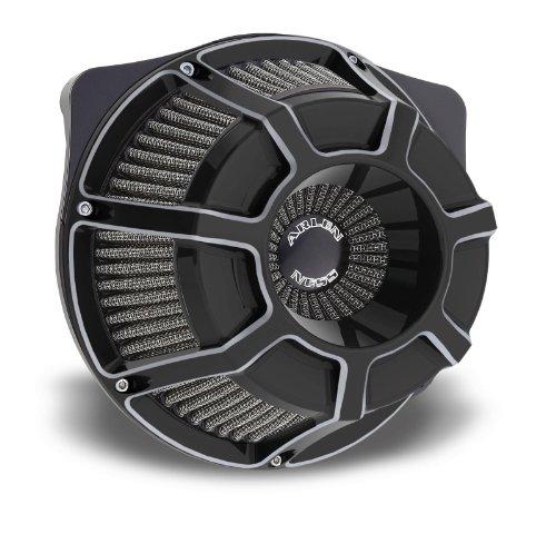 Arlen Ness 18-937 Black Inverted Series Air Cleaner Kit