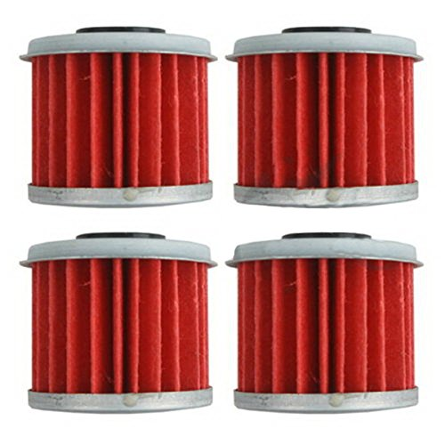 4 Pcs Oil Filters For Honda Atv Trx450er Trx450r Honda Crf150r Crf250r Crf450r